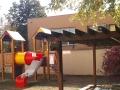 Budova a zahrada školy